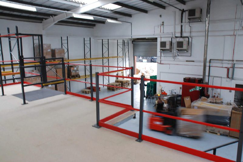 Custom-designed mezzanine floors an asset to your business operations
