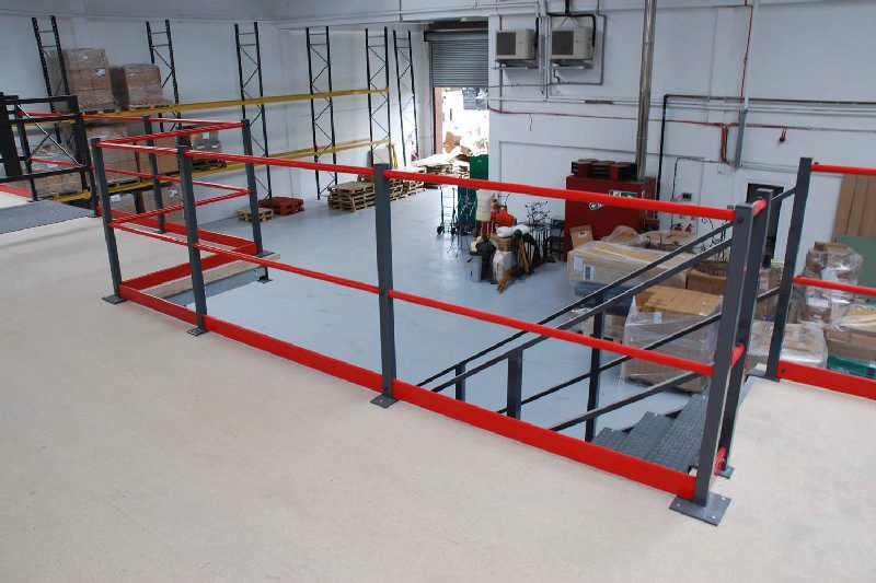 A Rack Supported Mezzanine Floor allows you to gain room to optimise and grow
