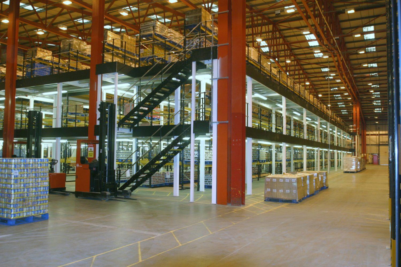 Multi-tier Mezzanine Floors