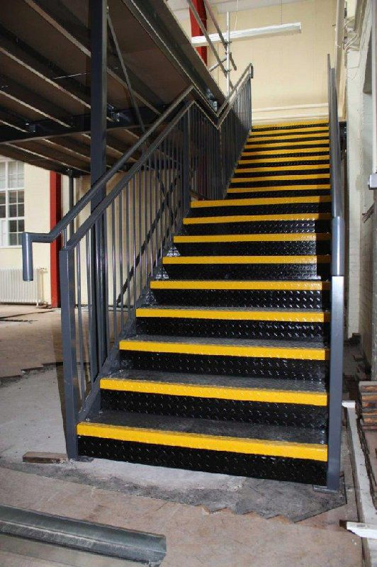 Public Access Stairs with In-Fill Handrails