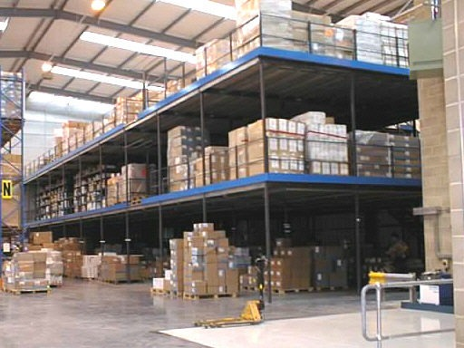 Production & Storage Mezzanine Floors