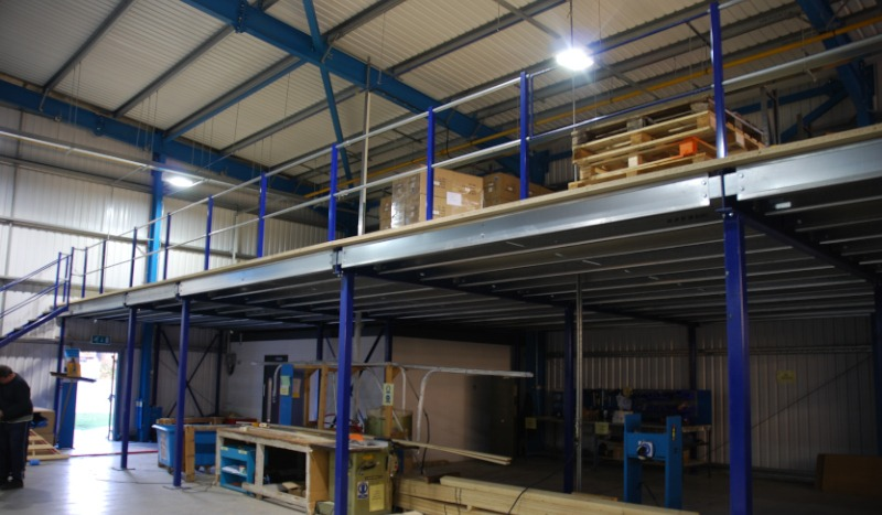 Single-tier Mezzanine Floors
