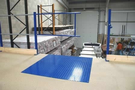 Mezzanine Floor Sliding Gates